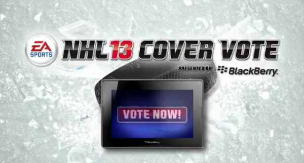 NHL 13 Cover Video