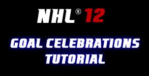 NHL 12 Goal Celebrations