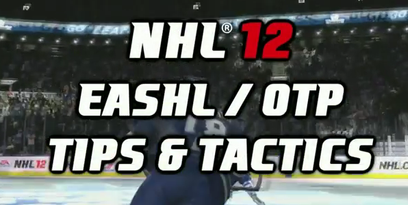 NHL 12 Tips: Be-a-Pro
