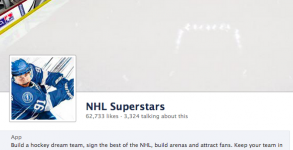 NHL Superstars Facebook