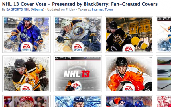 NHL 13 Covers