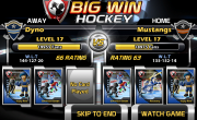 Big Win Hockey Match-Up Test