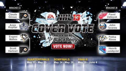NHL 13 Cover Vote Quarterfinals