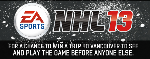 NHL 13 Contest