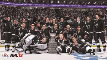 EA Predicts the Kings to Win the Stanley Cup