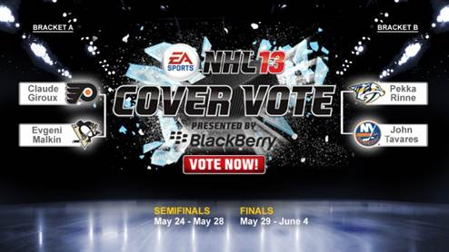 NHL 13 Cover Vote Semifinals