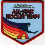 activison ice hockey patch