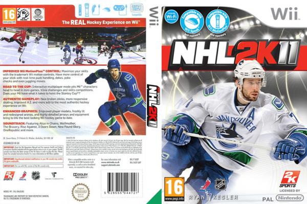 NHL 2K Covers