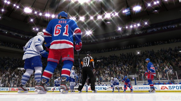 Rick Nash New York Rangers Uniform in NHL 13