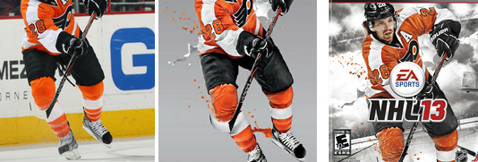 Behind the Scenes of the NHL 13 Cover