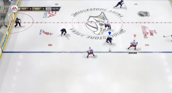 Defensive Gameplay Reveal – NHL 13