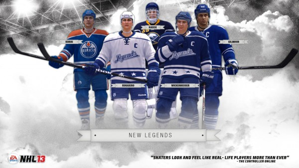 New NHL 13 Legends