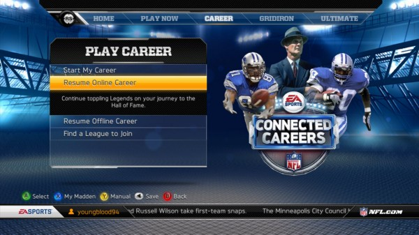 What Does Madden's Connected Careers Mean for NHL 13?