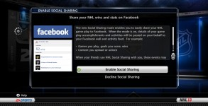 NHL 13 Facebook Game