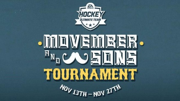 NHL 13 HUT – Movember & Sons Tournament