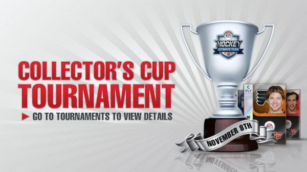 NHL 13 Collector's Cup Tournament