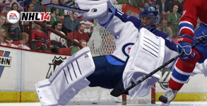 NHL 14 goalie
