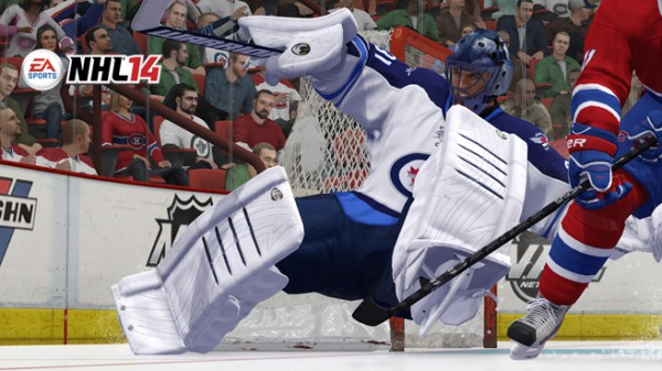 NHL 14 trailer. The video features the top 5 improvements in NHL 14