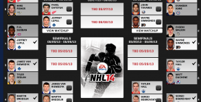 NHL 14 Cover Vote Quarterfinals