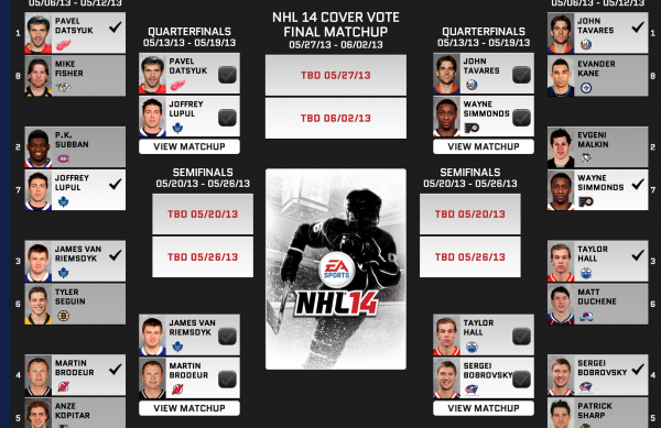 EA SPORTS NHL 14 Cover Vote Reaches Quarterfinals