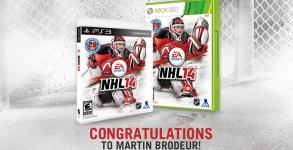 Brodeur NHL 14 Cover