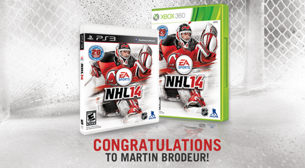 Martin Brodeur Wins NHL 14 Cover Vote