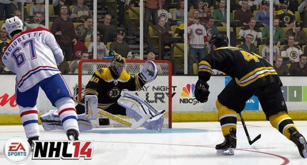 NHL 14 Goalie Gameplay Preview