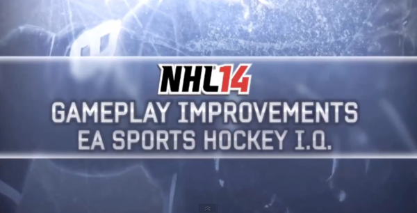 NHL 14 IQ Video
