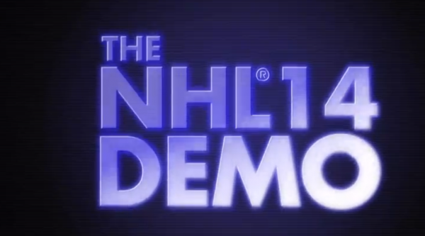 NHL 14 Demo Coming August 20